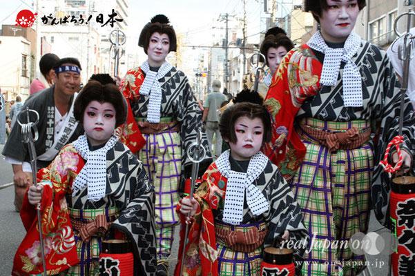素盞雄神社・天王祭〈本社大神輿巡行・手古舞〉 @2012.06.03