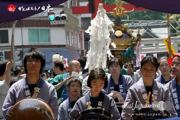 〈下谷祭〉各町連合渡御 @2009.05.10
