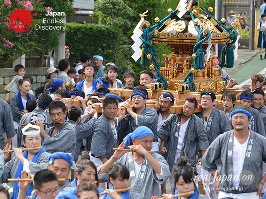 〈八重垣神社祇園祭〉横町区 @2017.08.05 YEGK17_029
