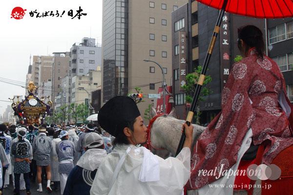 〈下谷祭〉本社大神輿渡御 @2008.05.11