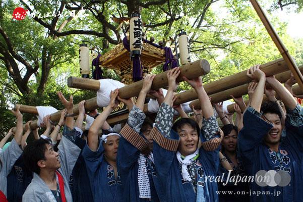〈王子神社例大祭〉中十条一丁目町会 @2012.08.05