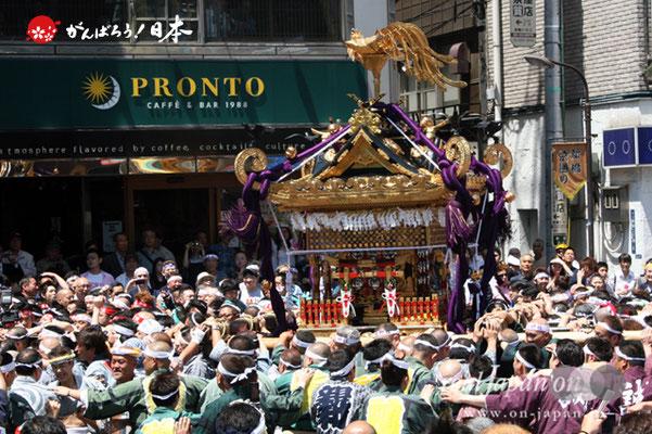 〈烏森神社例大祭〉本社大神輿渡御 @2012.05.05