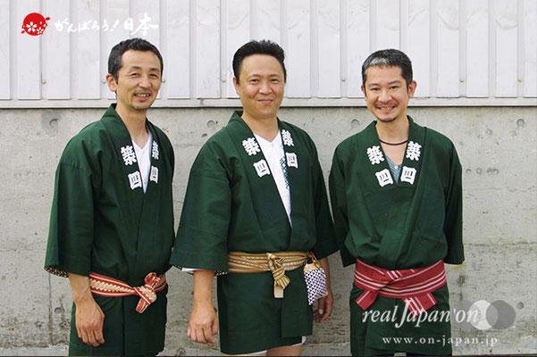 築四さん:祭はとにかく楽しいですよね。今日はお手伝いで、地元は八丁堀なので赤坂氷川神社。来年が大祭です。