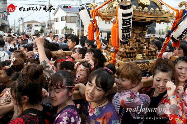 浦安三社祭〈一区西組〉@2012.06.17