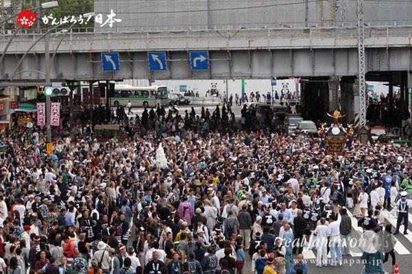 〈下谷祭〉本社神輿渡御(上野駅前)@2012.05.13