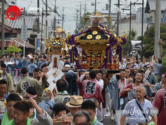 〈八重垣神社祇園祭〉神社神輿渡御 @2017.08.04 YEGK17_004