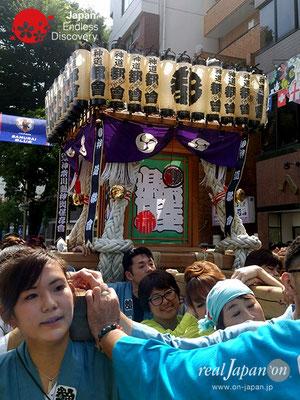 2018 第13回みこしコラボレーションinイセザキ「神奈川県神輿保存会 都會」_YH18_021