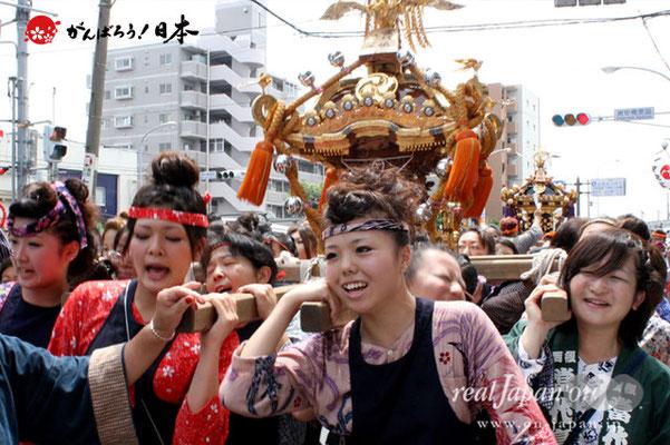 浦安三社祭〈当代島 婦人連〉@2012.06.17