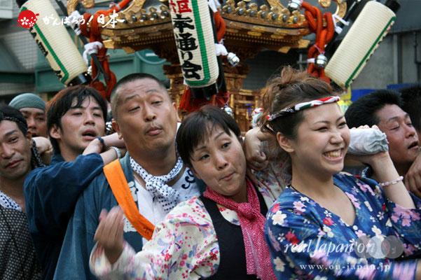 浦安三社祭〈六区 本通り会〉@2012.06.17