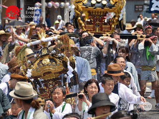 〈八重垣神社祇園祭〉神輿連合渡御:砂原区 @2018.08.05 YEGK18_020