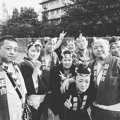 〈GP-17006〉 眞正會さん:三社祭・2017年5月21日・コメント:宮だし前