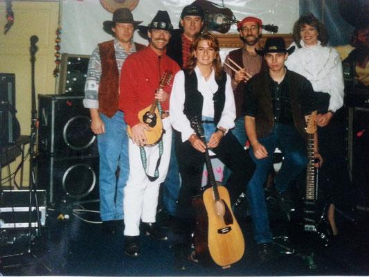 """1996 gründeten diese Mitglieder die """"Westbound-Countryband"""