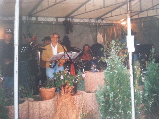 14.08.1999 Auftritt in Erkensruhr/Rursee