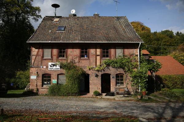 Haus mit Hofladen, Gut Fahrenbach. Quelle: Kulturfabrik e.V. medienWERK, Eschwege