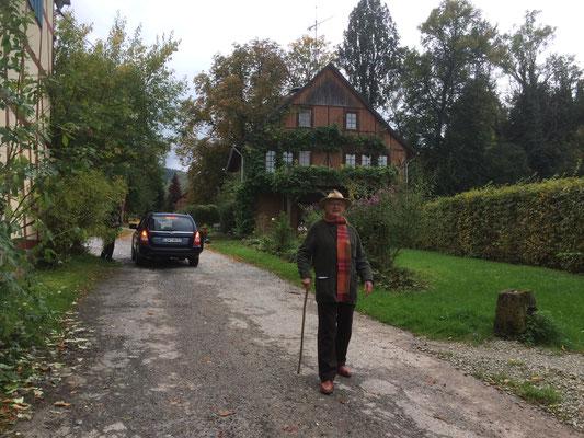 Gut Fahrenbach, Besuch von Karl-Ludwig Schweisfurth. Quelle: Gut Fahrenbach