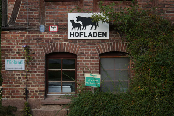 Hofladen, Gut Fahrenbach. Quelle: Kulturfabrik e.V. medienWERK, Eschwege