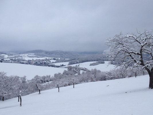 Gut Fahrenbach rundrum im Winter. Quelle: Gut Fahrenbach
