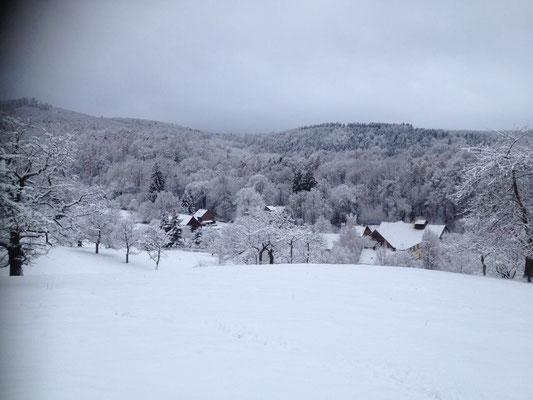 Gut Fahrenbach im Winter. Quelle: Gut Fahrenbach
