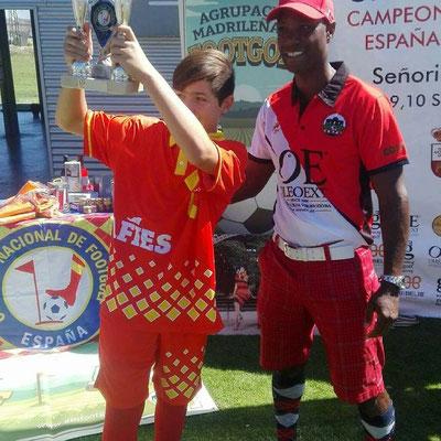 Titulo campeon de España junior 2017