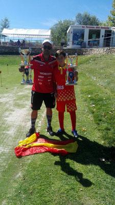 Campeones de España absoluto y junior 2017