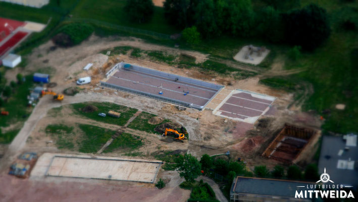 Baustelle Freibad