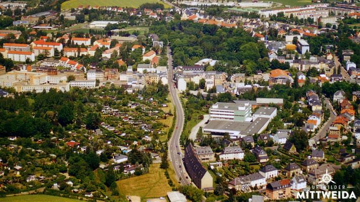 Heinrich-Heine-Straße und ehem. GAGFA-Häuser