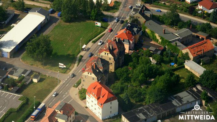 ehem. Häuser an der Chemnitzer Straße