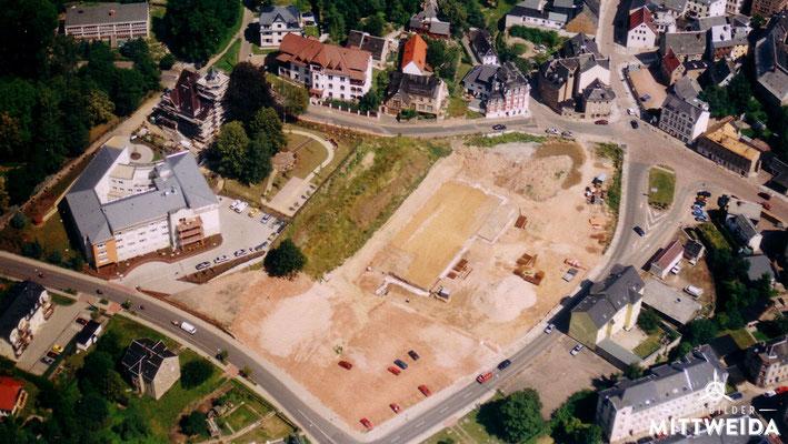 Baustelle NETTO-Supermarkt Burgstädter Straße