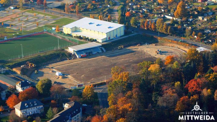Erneuerung des Stadion am Schwanenteich