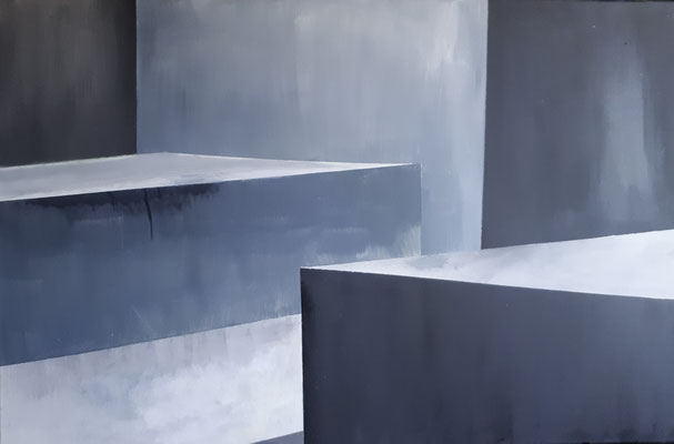 Memorial II, 60 x 90, Acryl auf Leinwand