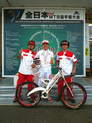 マウンテンバイク・ダウンヒル Team IKUZAWA メカニック