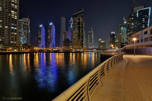 Dubai Marina by Michael Schnabl