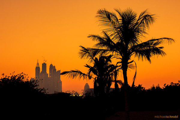 Dubai Sunset by Michael Schnabl