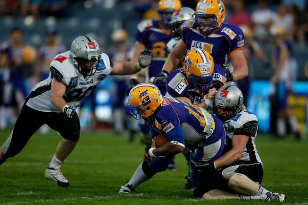 Giants vs. Raiders - Sport Fotoworkshop in der UPC-Arena Graz
