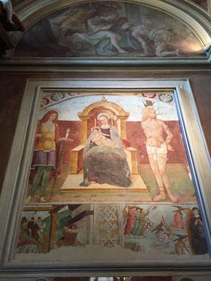 Madonna con S. Sebastiano e Vittore