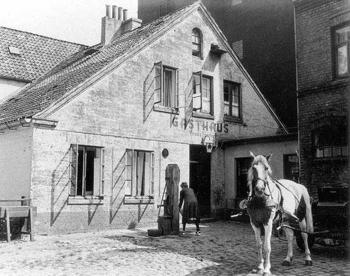 Erikastraße Gasthaus Tomfort Rastplatz für Pferdegespanne