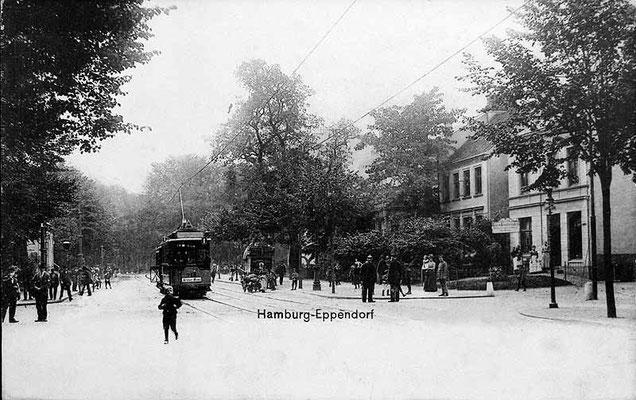 Eppendorfer Landstraße Ecke Katzenstieg ( Robert-Koch-Str.)