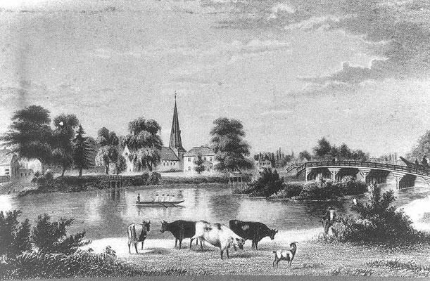 St. Johannis mit Alsterbrücke