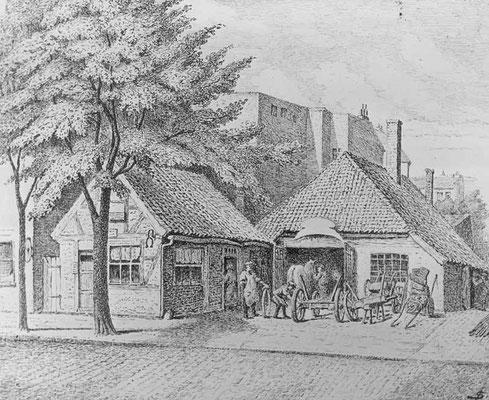 Eppendorfer Landstraße Alte Schmiede 1917
