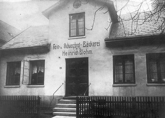 Erikastraße Bäckerei Blohm