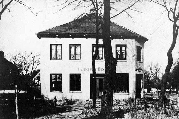 Späteres Gasthaus Friedenseiche