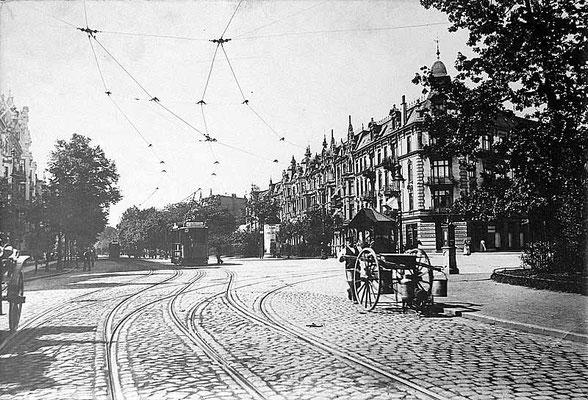 Eppendorfer Marktplatz mit Roseneck Eppendorfer Landstraße
