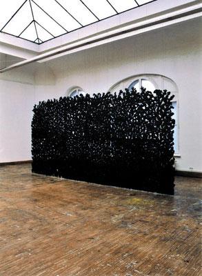 GHORTO. Diplom, 2004, Papier-Pulp, Pigment