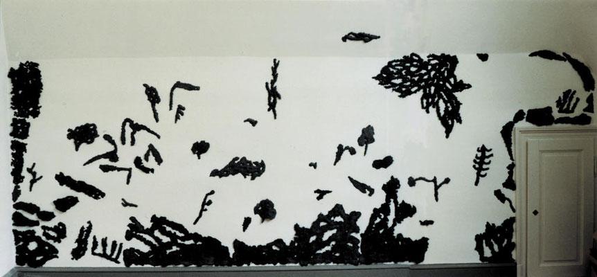 GARTEN. Papier-Pulp, Pigment