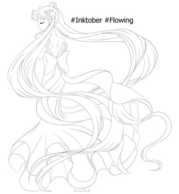 Flowing | Walle, walle, Princess Serenity
