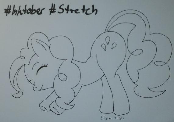 Stretch | Pinky beim Stretchen