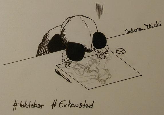 Exhausted | Erschöpft