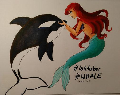Whale | Arielle und ein Orca.