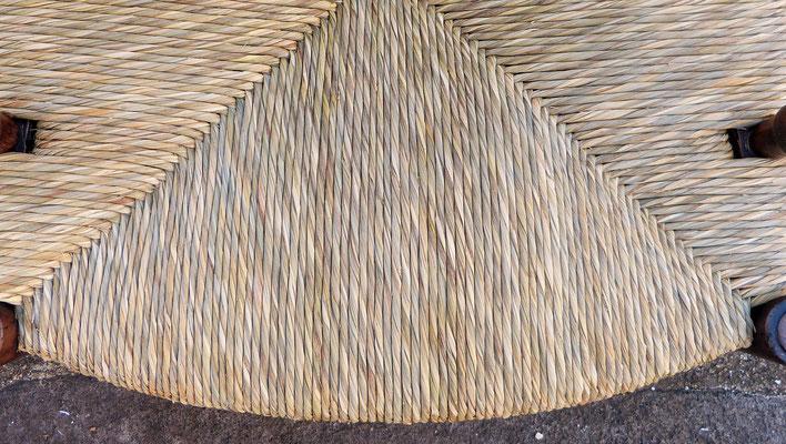 Paillage naturel en paille des marais (laiche) / Natural sedge straw bottom