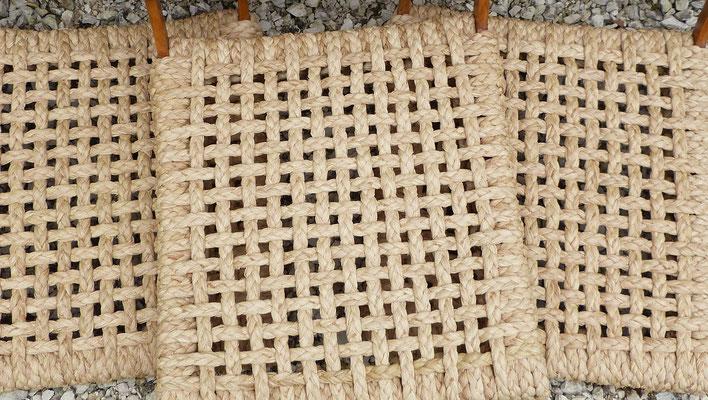 Raphia tressé ajouré / Openwork weaved raphia
